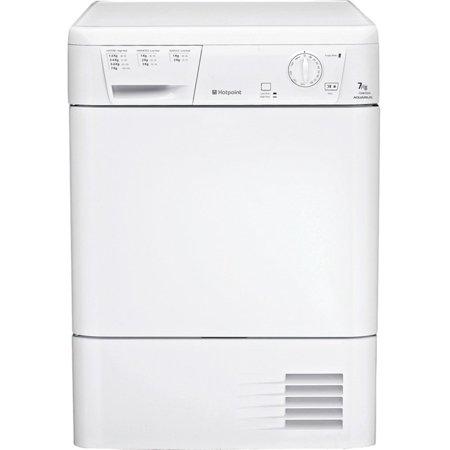 Hotpoint Condenser Dryer CDN7000BP