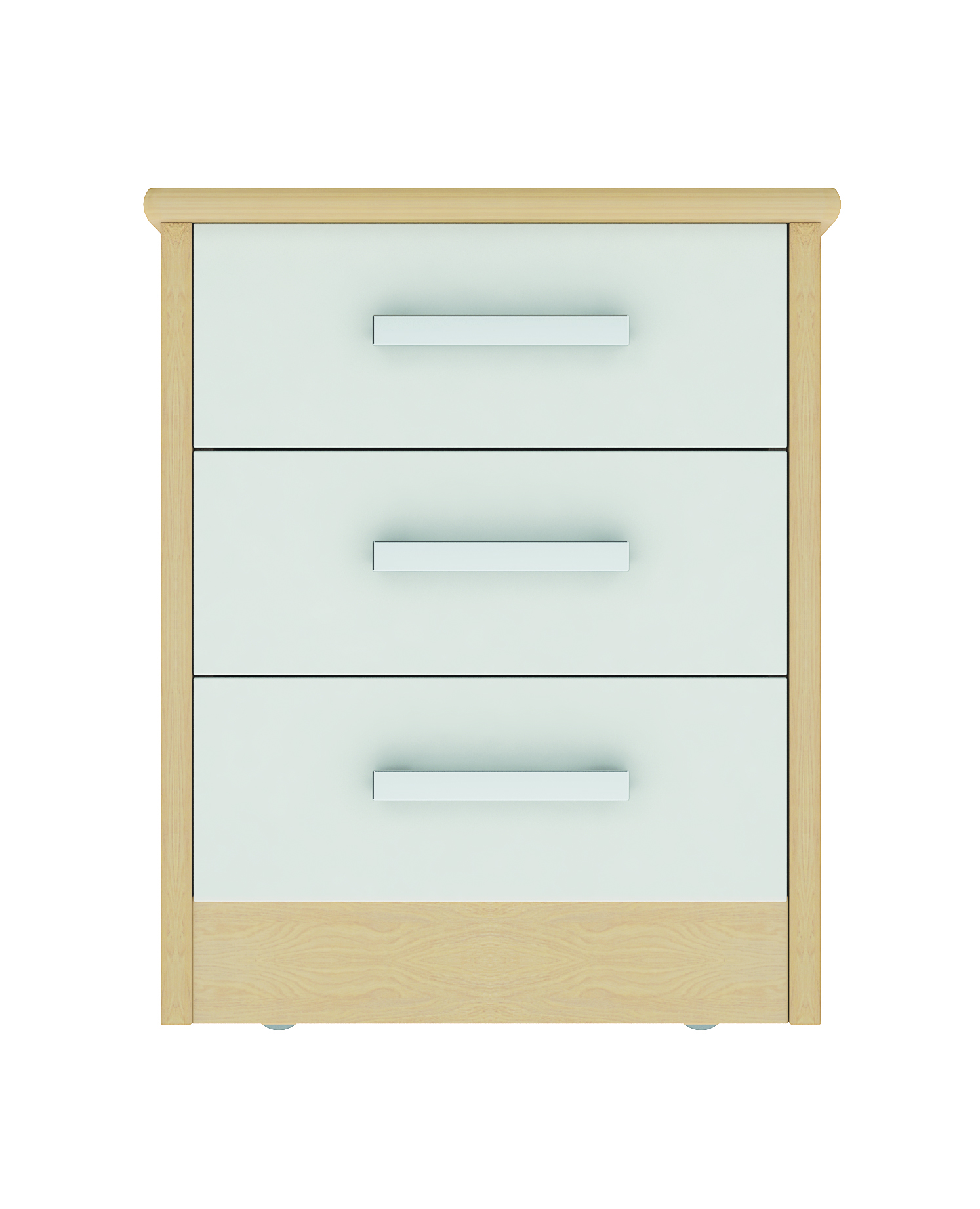 Linea 3 Drawer Bedside