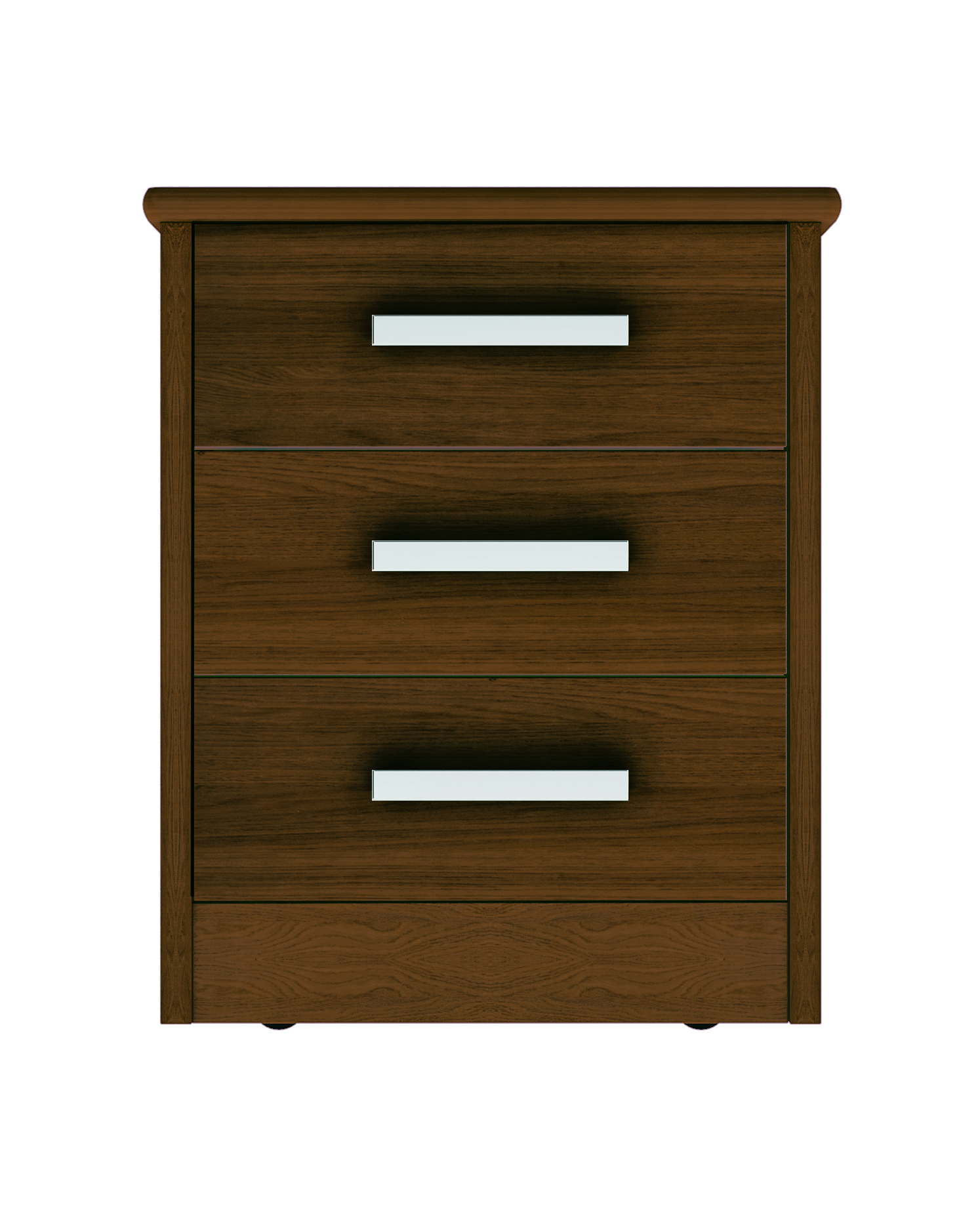 Moda 3 Drawer Bedside