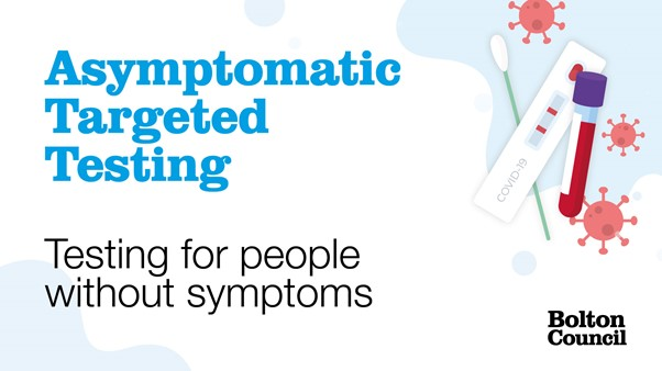 Testing for people without symptoms