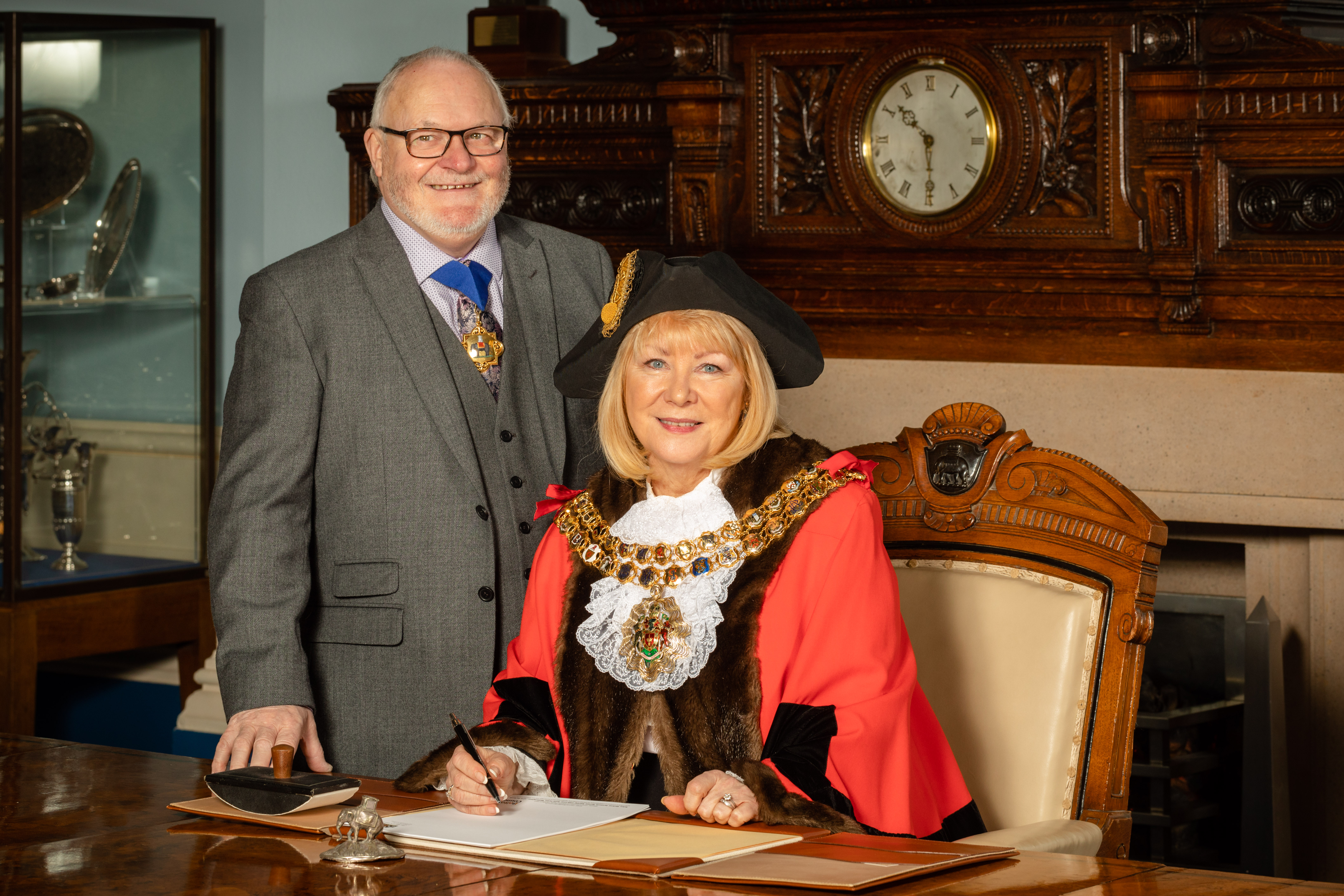 Cllr Mayor Hilary Fairclough