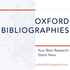 Oxford Bibliographies icon