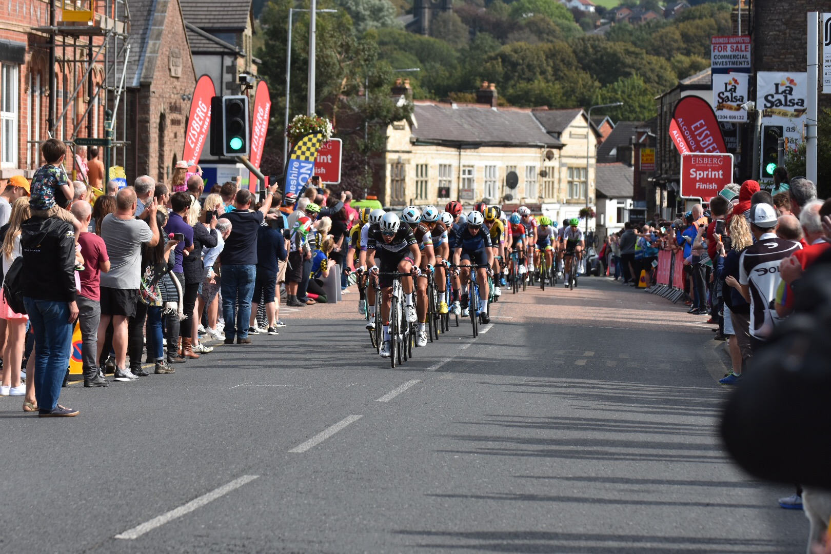 Tour of Britain Eisberg sprint