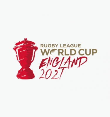 2021 Rugby league world cup logo